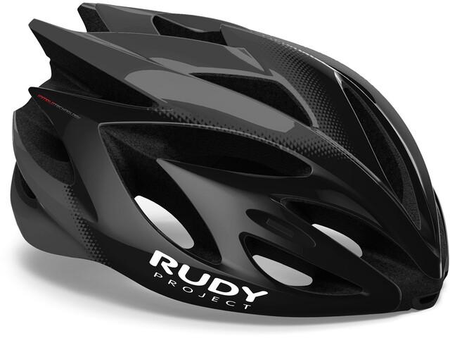 Rudy Project Rush Helmet black/titanium shiny